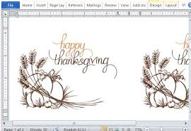 thanksgiving templates for microsoft word