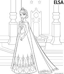 frozen coloring pages for printable frozen coloring pages color