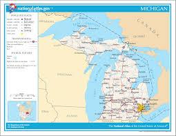 Saginaw Michigan Map by Map Of Michigan Na 1 U2022 Mapsof Net