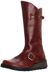 womens boots qvc fly fly salv brown leather womens ankle boots