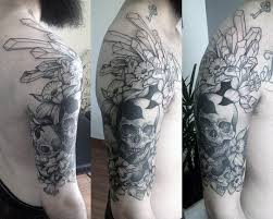 crystal skull tattoo pictures to pin on pinterest tattooskid