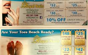 some coupons for you from royal nails salon by royal nails omaha