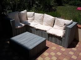canapé exterieur palette table de jardin u awesome salon de jardin cuisine jardin avec