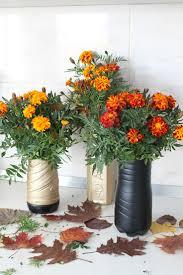 upcycled bottle flower vase u2013 craftbnb