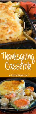 thanksgiving casserole a family feast