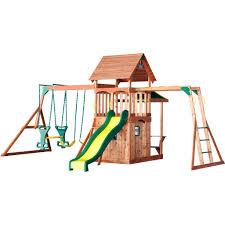 kids swing set swing set for kids with tire swing and cedar