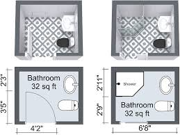 Bathroom Remodeling Roomsketcher by Small Bathroom Design Plans Captivating Decor Roomsketcher Small
