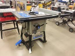 Contractor Table Saw Reviews Delta Table Saw Crowdbuild For
