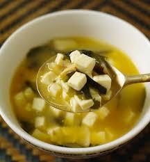 comment cuisiner du tofu recette de la soupe miso