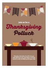potluck invitation party invitations thanksgiving potluck at minted
