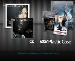 free jewel case template cd dvd case psd xcf source by gandiusz on deviantart