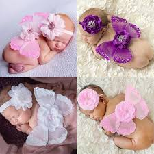 kids hair accessories 2016 angel wings headband baby wings flower hairband with