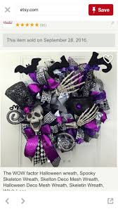 Etsy Halloween Wreath by 247 Best A Wreaths Halloween Images On Pinterest Halloween
