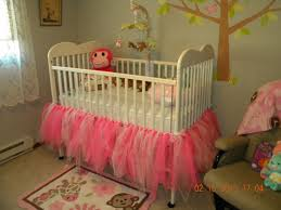 Baby Crib Bed Skirt Tutu Crib Skirt Tara Or Could We Do This On Our Own If I