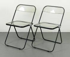 Lucite Folding Chairs Plia Giancarlo Piretti Product Objects Pinterest Folding