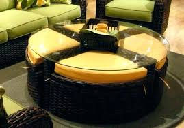Ottoman Storage Coffee Table Coffee Table With Ottomans Underneath Ed Ex Me