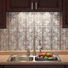installing kitchen backsplash tile sheets for upscale look