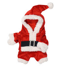 santa suit jolly santa suit dog costume with same day shipping baxterboo