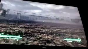 Fallout 3 Map by Fallout 3 Cool Out Of Map Glitch Xbox 360 Youtube