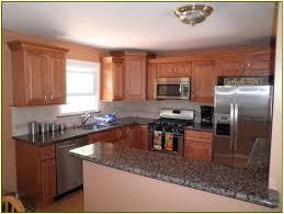 White Cabinets Brown Granite by Tropic Brown Granite With White Cabinets Home Design Ideas