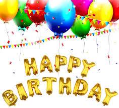 happy birthday balloon aluminum foil letter happy birthday helium balloon party