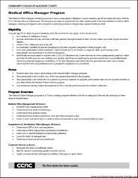 Sample Medical Office Manager Resume by Resume For Medical Job Cv For Receptionist Hospitality Cv Salon