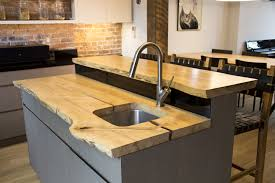 kitchen counter island ash slab kitchen counter and island built by reco bklyn reco