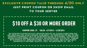 Printable Olive Garden Coupons Olive Garden Coupon Code 2016 Search Results Global News Ini