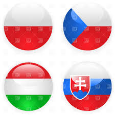 heart with hungarian flag colors i love hungary vector clipart