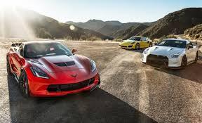 nissan gtr vs performance data showdown 2015 corvette z06 vs gt r nismo 911