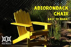 How To Build An Adirondack Chair Build An Adirondack Chair Limited Tools Project Woodworking