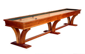 Interesting Tables Furniture Interesting Wooden Shuffleboard Tables Design For Your