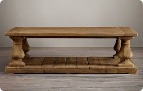 Balustrade Coffee Table Balustrade Coffee Table Salvaged Wood Balustrade Coffee Table