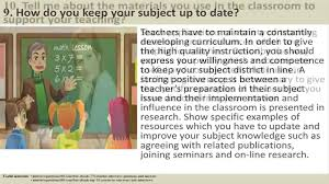 Sample Resume For Daycare Teacher by 170 Teacher Interview Questions And Answers Youtube