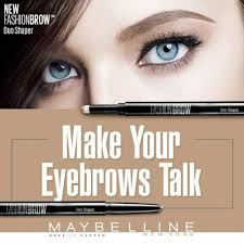 Maybelline Pensil Alis spesial maybelline fashion brow duo shaper pensil alis maybeline