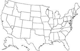 map of usa states including alaska united states with alaska and hawaii free map free blank map
