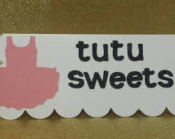 Baby Shower Candy Buffet Sign by Tutu Candy Table Etsy