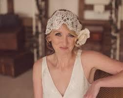 wedding headdress lace headband wedding etsy uk