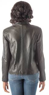 moto style jacket reed women u0027s moto leather fashion jacket genuine leather coat