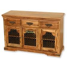 jali 3 door sheesham sideboard sheesham furniture furniture tns furniture jali 3 door sideboard