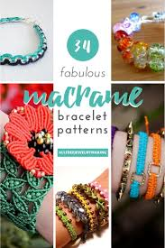 34 fabulous macrame bracelet patterns allfreejewelrymaking com