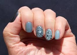 three shades of gray on my fingernails sunflower swank