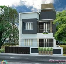 small plot flat roof house kerala home design bloglovin u0027