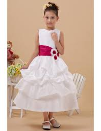 communion dresses stylish layered skirt a line bateau tea length satin