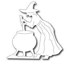 halloween cauldron background frantic stamper precision die cauldron witch