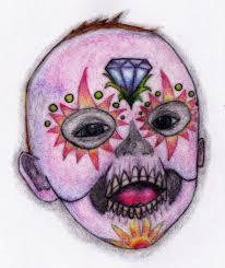baby sugar skull by evadeone on deviantart