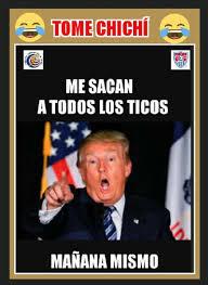 Costa Rica Meme - costa rica le recetó una trumpada de memes a estados unidos