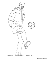 soccer coloring pages neymar virtren com