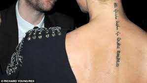 who u0027s got ovid tattooed on their tummy 12 celebrity tattoos
