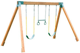 Backyard Jungle Gyms by 9 Unbeatable Wooden Swing Sets For Solid Backyard Fun